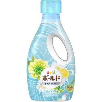 日本進口【P&G】Happiness Bold 洗衣液850g 藍池黃菊