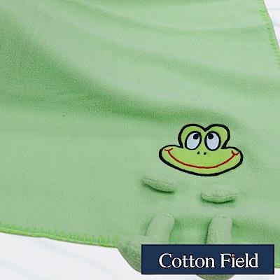 棉花田 俏皮蛙 兒童創意隨意毯(70x90cm)