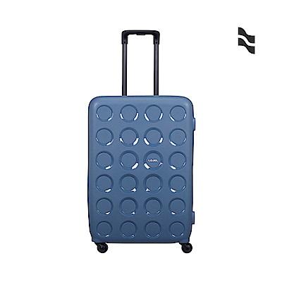 LOJEL VITA 28吋 鋼藍 防盜拉鍊箱 PP材質