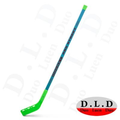 DLD多輪多 專業直排輪兒童ABS曲棍球桿 綠色 兩入一組