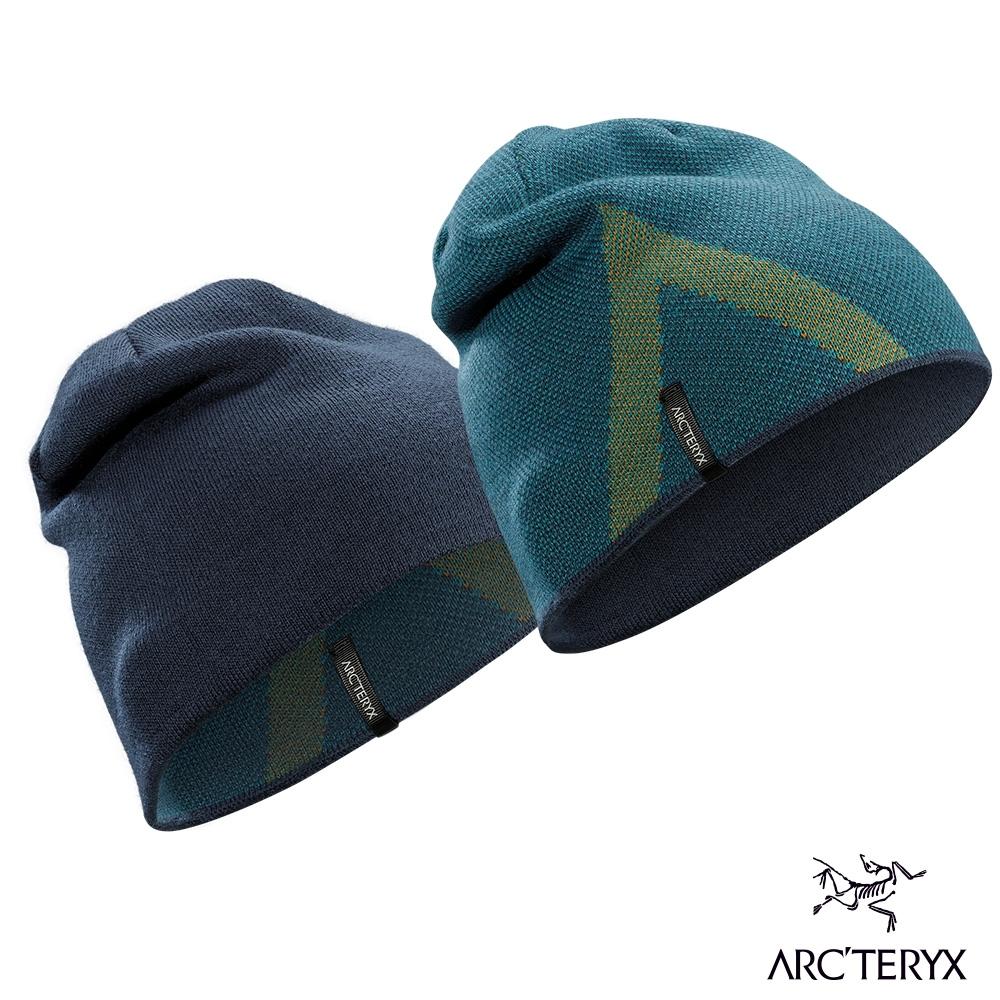 Arcteryx 始祖鳥 Crest 雙面 保暖 羊毛 針織毛帽 尤根綠/育空褐