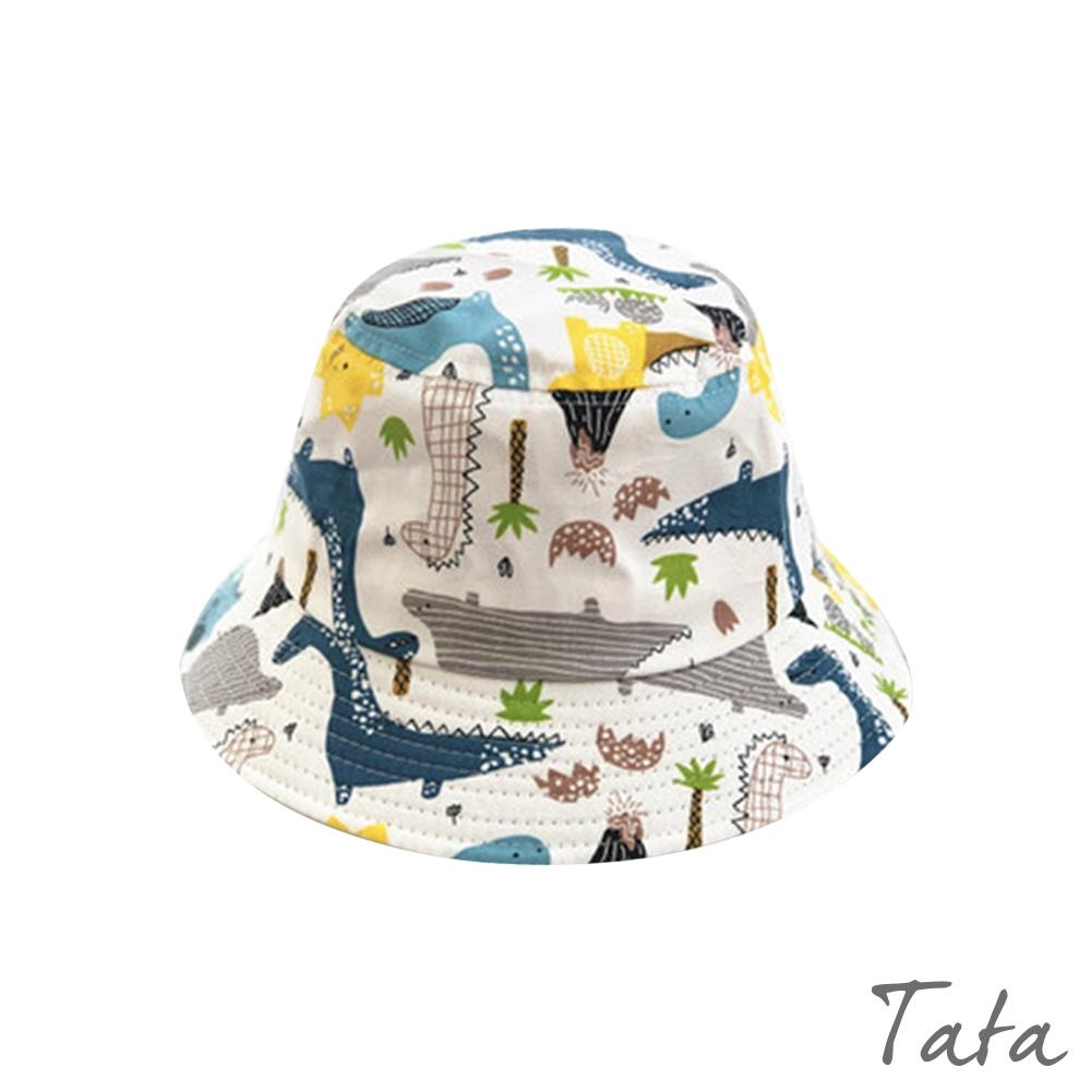 童裝 手繪風恐龍印花漁夫帽 TATA KIDS