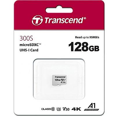 Transcend 創見 300S 128G U3 microSDXC A1 V30記憶卡