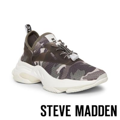 STEVE MADDEN-MATCH-LOGO迷彩增高休閒鞋-迷彩