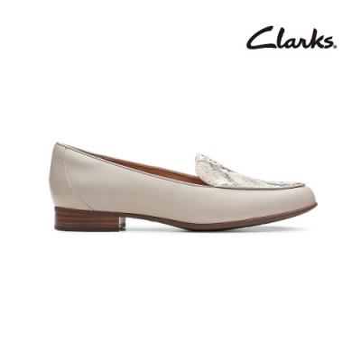Clarks 純甄品味 Un Blush Ease 女低跟鞋 乳白色 CLF47854SD20