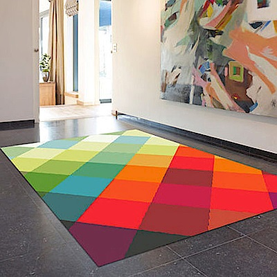 范登伯格 - SWING 進口仿羊毛地毯 - 彩繪 (120 x 170cm)