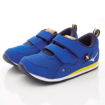 MIZUNO童鞋 RUNNER-ON93327藍(中小童段)