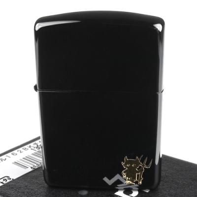 ZIPPO 日系~BLACK DEVIL黑惡魔-超質感鍍鈦塗層加工打火機(ARMOR裝甲)
