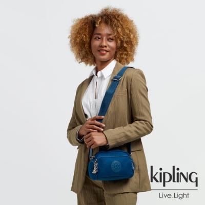 Kipling 典雅紺青色好收納隨身斜背包-JENERA MINI