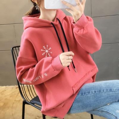 NUMI  森-小鹿連帽造型T恤-共3色-(M-2XL可選)