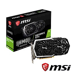 MSI微星 GeForce GTX 1660 ARMOR 6G OC顯示卡