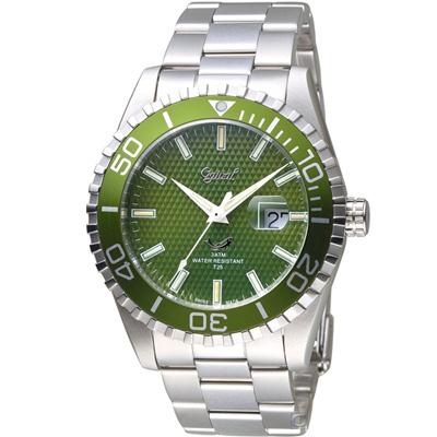 Ogival 愛其華 夜鷹氚氣燈管潛水型腕錶(3985TGSG)
