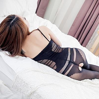 開檔貓裝網衣情趣內衣 龐克風連身貓裝情趣睡衣 流行E線