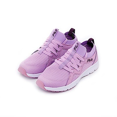 FILA 女慢跑鞋-紫色 5-J701T-991
