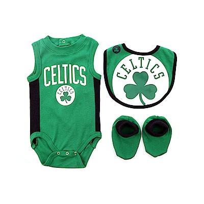 NBA 新生兒包屁衣組合 塞爾提克