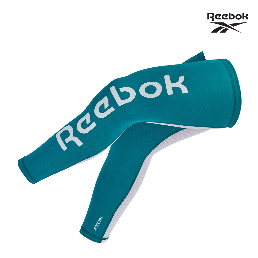 Reebok 溫控修復訓練腿套(經典黑/湖水綠) (湖水綠)