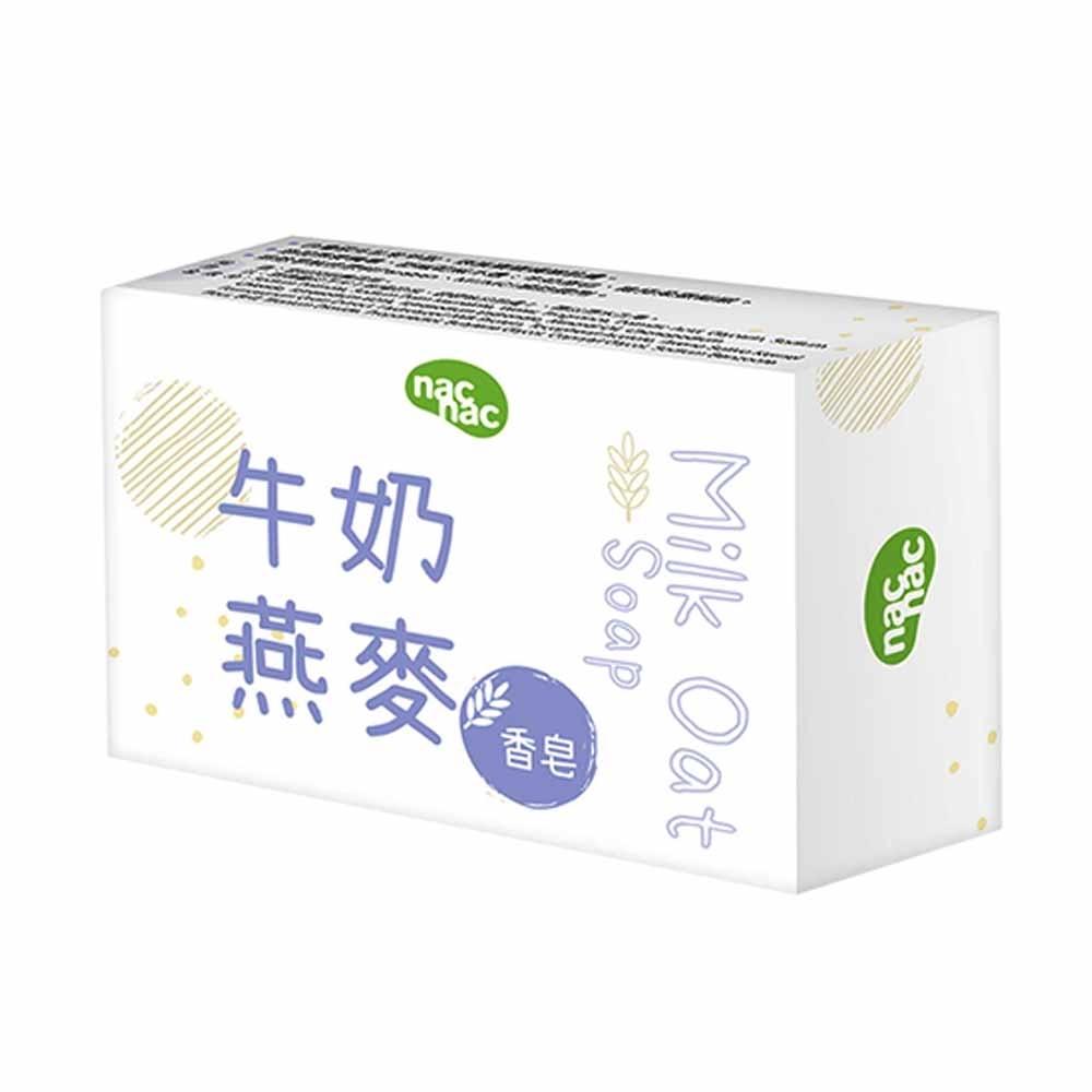 nac nac 新牛奶燕麥皂75g