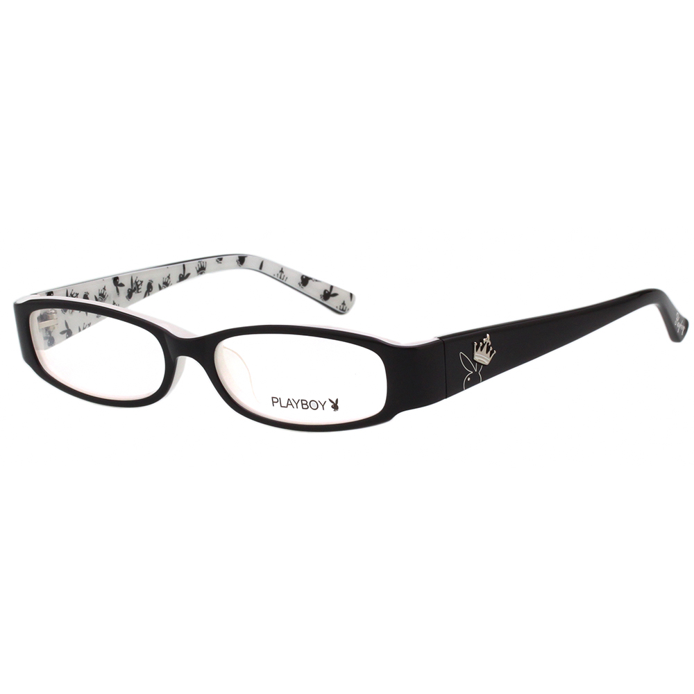 PLAYBOY-時尚光學眼鏡-黑色-PB85038 @ Y!購物