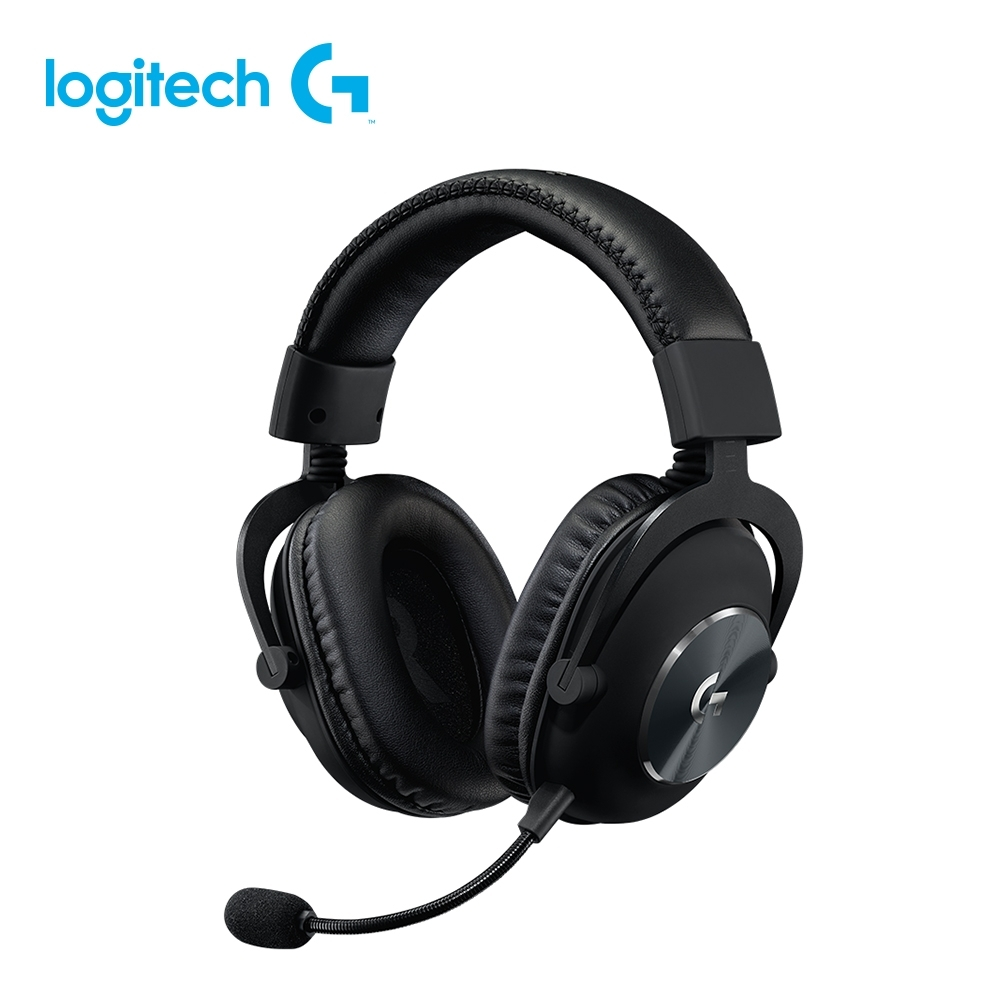 (送耳機架)羅技 Pro X 專業級電競耳機麥克風