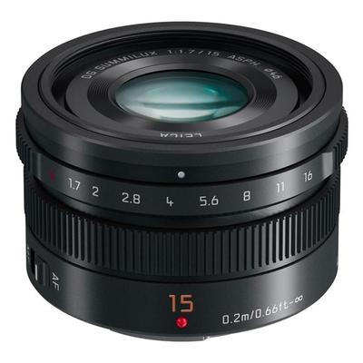 Panasonic LEICA DG 15mm F1.7 大光圈定焦鏡頭 公司貨