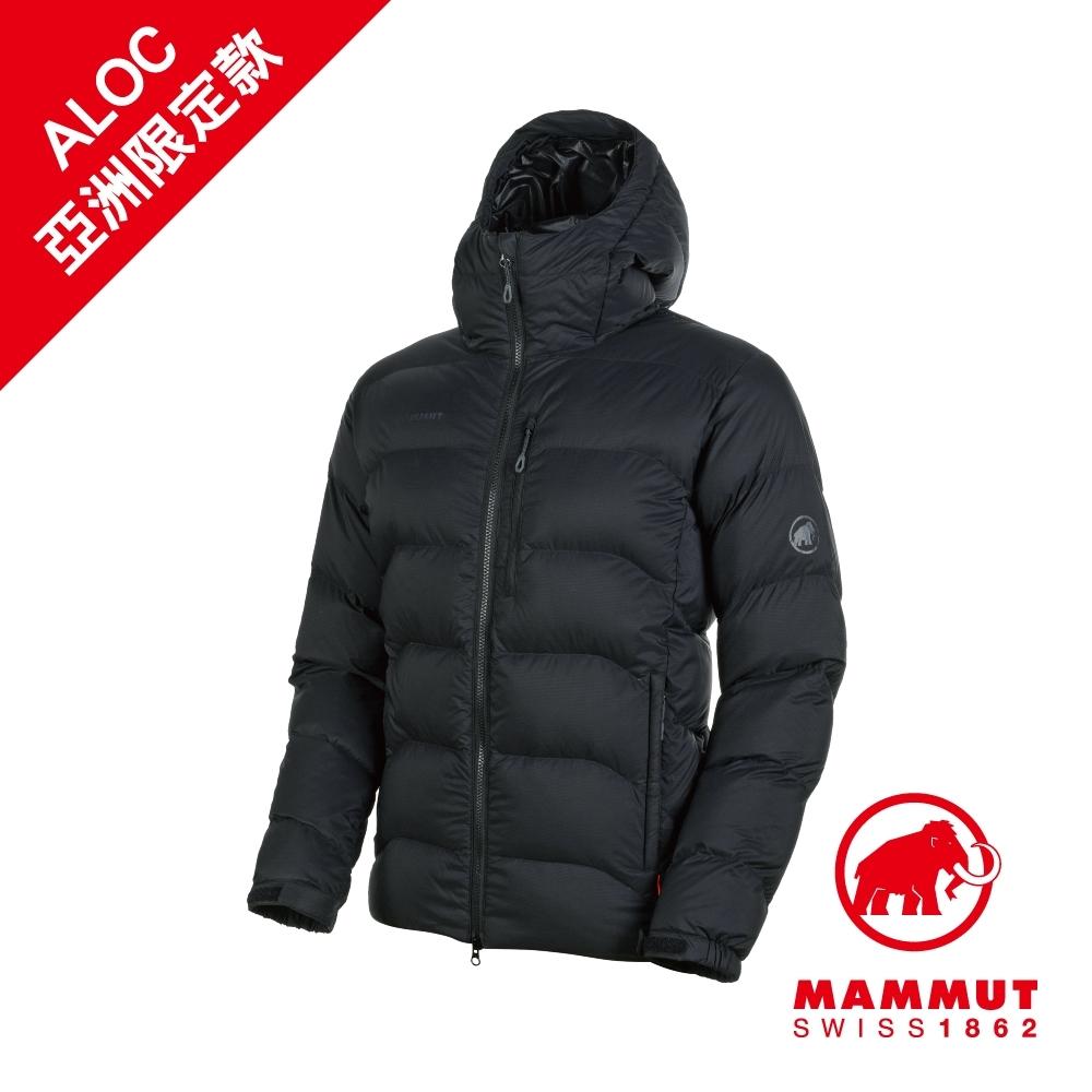 【Mammut 長毛象】Xeron IN 羽絨連帽外套 黑 男款 #1013-00701