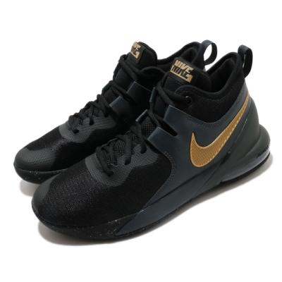Nike 籃球鞋 Air Max Impact 運動 男鞋 氣墊 避震 舒適 包覆 球鞋 穿搭 黑 金 CI1396005