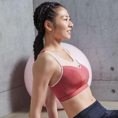 蕾黛絲-LadieSport運動 Level 4 吸震背心 C.E運動內衣 舞動紅