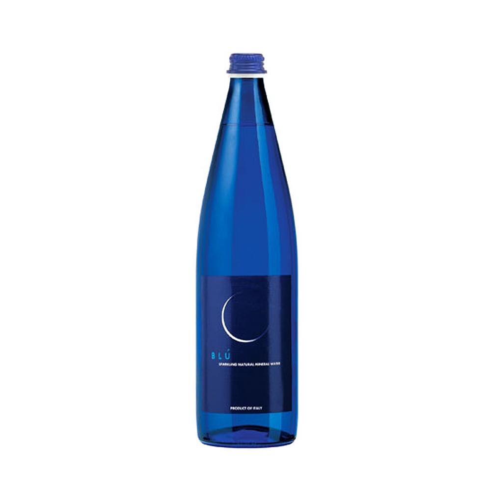 義大利Galvanina羅馬之源氣泡礦泉水(藍月款) 750ml /瓶