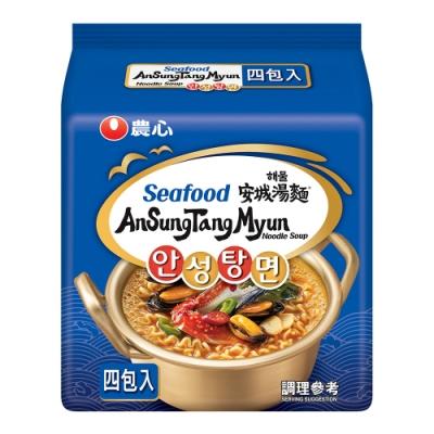 農心 安城湯麵-海鮮味(112gx4入)