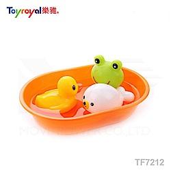 【任選】日本《樂雅 Toyroyal》快樂洗澡組(小)