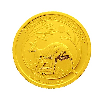 2019年澳洲袋鼠金幣-1/2盎司(OZ)