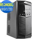 技嘉B450平台[明月判官]R5四核效能電腦