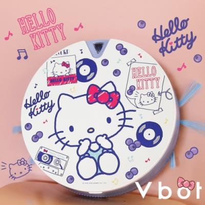 Vbot x 凱蒂貓 i6+掃地機器人 二代加強掃吸擦智慧鋰 (五款可選)
