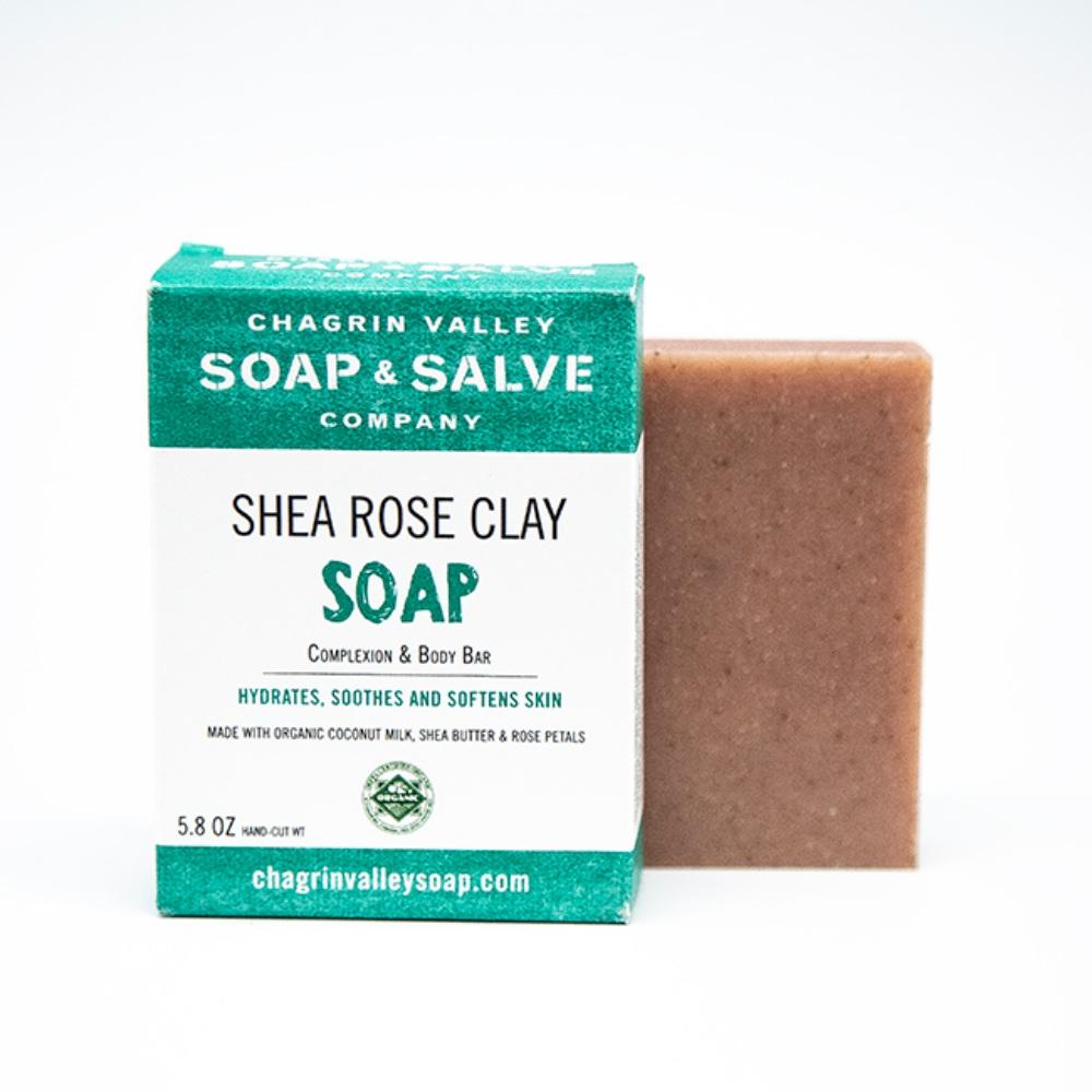 美國Chagrin Valley有機印度天竺葵玫瑰高嶺土手工皂 5.8 OZ