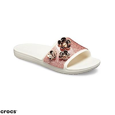 Crocs 卡駱馳 (女鞋) 設計限量系列光芒四射涼拖 205313-6OQ @ Y!購物