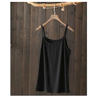 驚喜超柔質感單色吊帶背心內搭上衣-設計所在