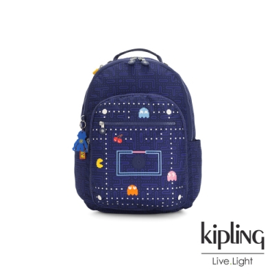 Kipling PAC-MAN限量系列 手提後背包-SEOUL