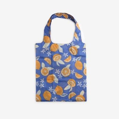 Dailylike 摺疊購物袋單肩包L-20新鮮檸檬