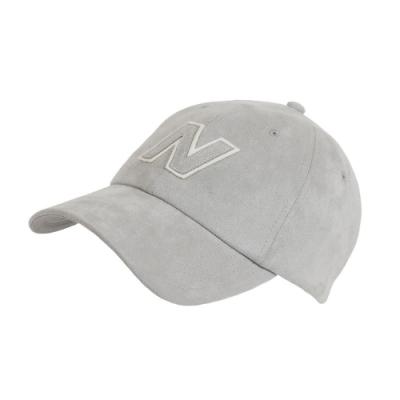 New Balance 老帽 Block N Hat 基本款 男女款 紐巴倫 棒球帽 遮陽 穿搭 外出 灰 白 LAH03001LAN