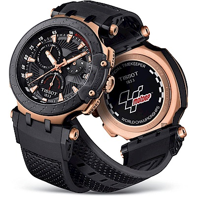 TISSOT天梭 T-RACE MOTOGP 2018 限量賽車錶-47mm T1154173706100