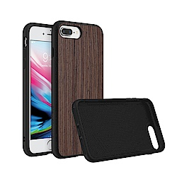 犀牛盾iPhone 8/7 Plus Solidsuit胡桃木紋防摔背蓋手機殼