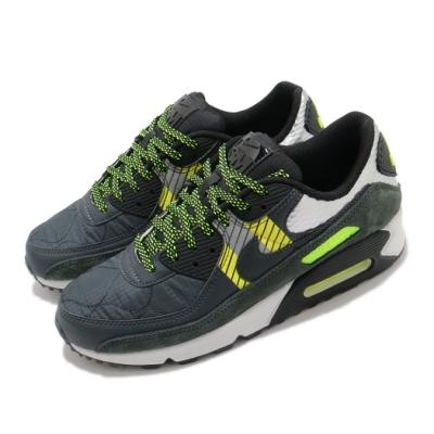 Nike 休閒鞋 Air Max 90 運動 男鞋 舒適 氣墊 避震 球鞋 穿搭 3M反光 灰 黃 CZ2975002