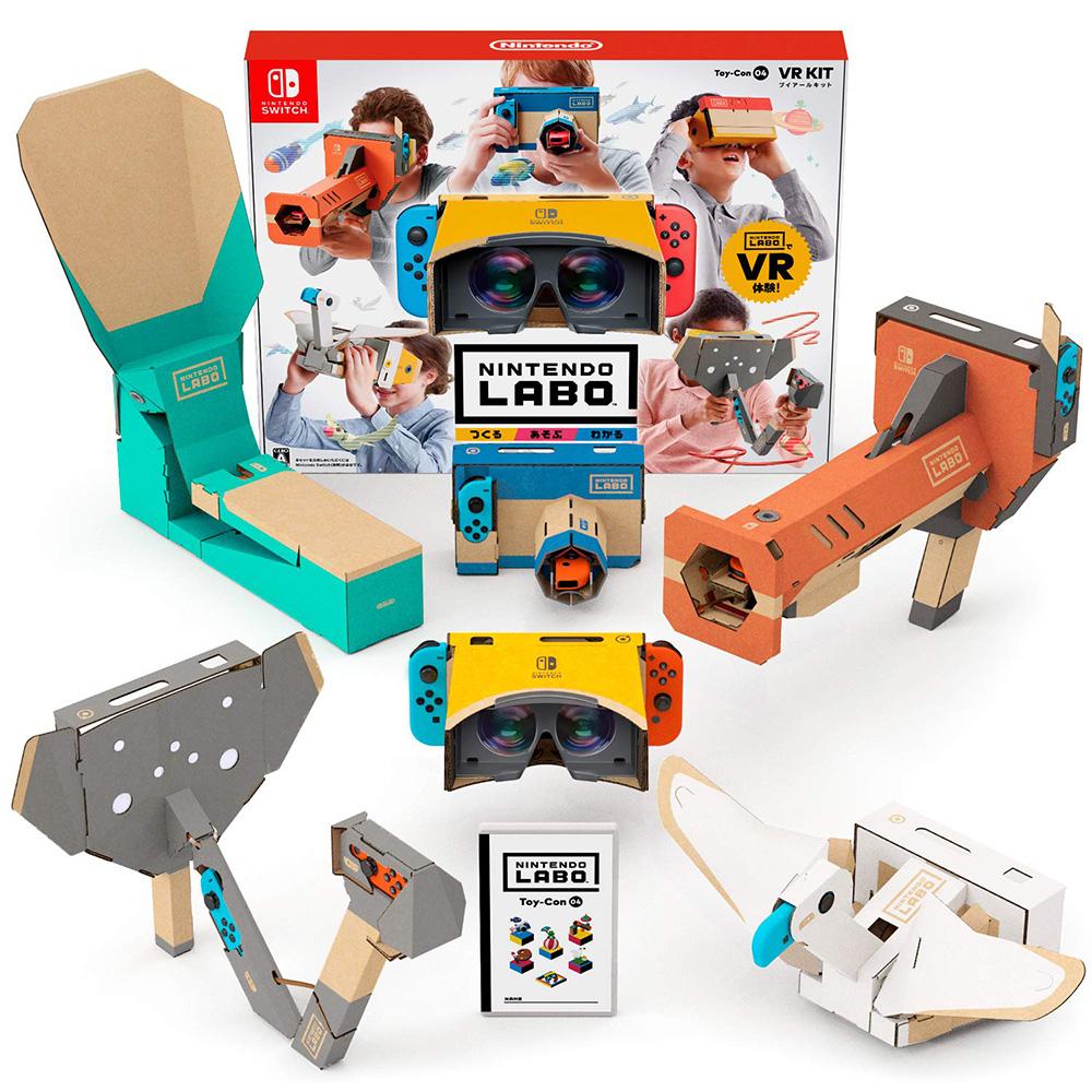 (預購) 任天堂實驗室LABO Toy-Con 04:組合套裝(含遊戲軟體) NS中文版