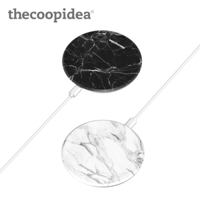 thecoopidea Moon Wireless Charger 無線充(CP-QC04)-大理石
