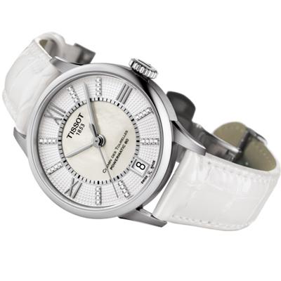 TISSOT 天梭 杜魯爾系列 80小時動力儲存機械錶(T099207161160)