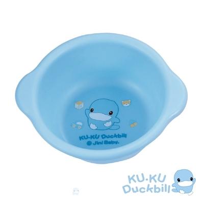 KUKU酷咕鴨 可愛臉盆(藍/粉)