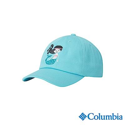 Columbia 哥倫比亞 兒童-UPF50棒球帽-藍色 UCY00740BLFDS