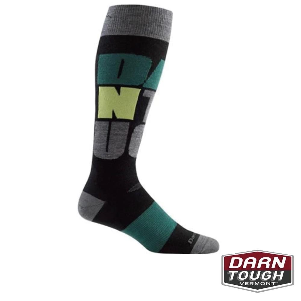 【美國DARN TOUGH】男羊毛襪DT滑雪襪(隨機)