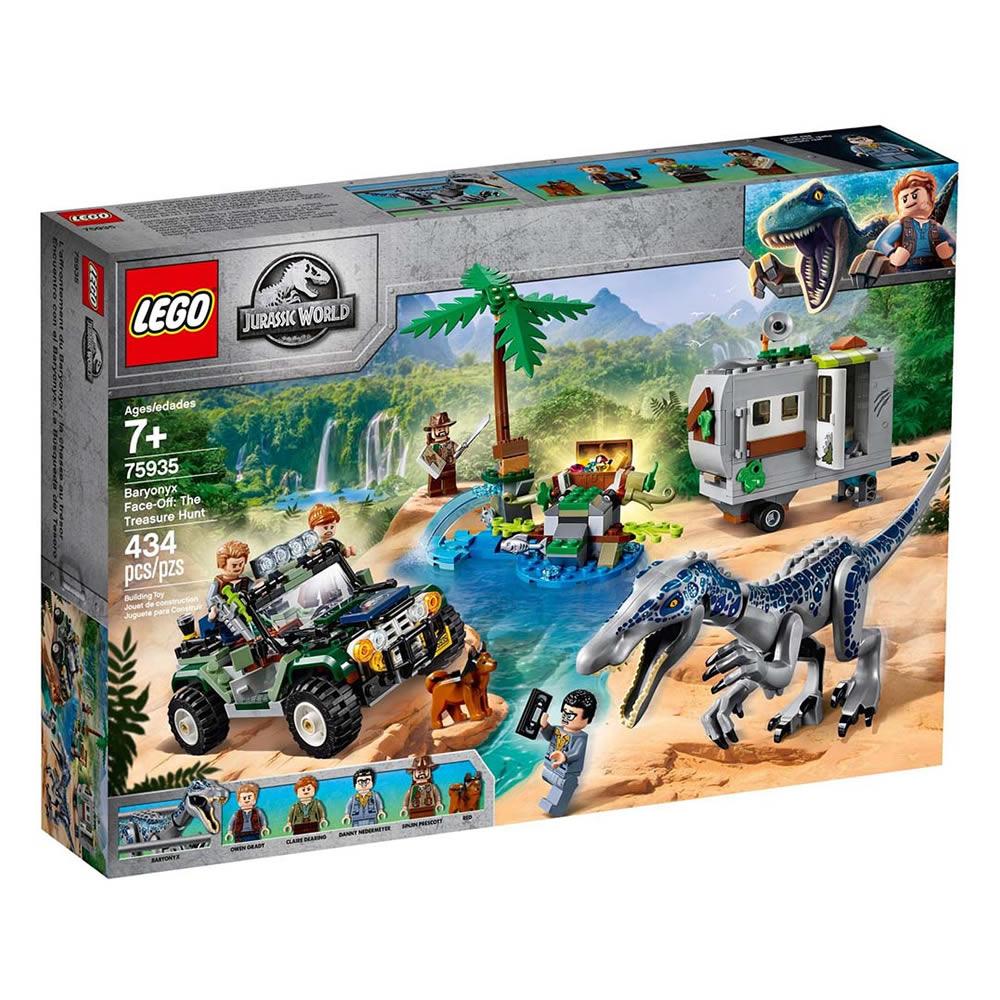 樂高LEGO 侏儸紀世界系列 - LT75935 Baryonyx Face-Off: T
