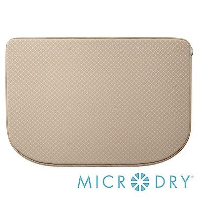 Microdry 時尚地墊 網紋多功能地墊-亞麻色